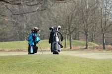 Golf Bags.
