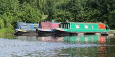 Free Narrow Boats. Stock Images - 30073724
