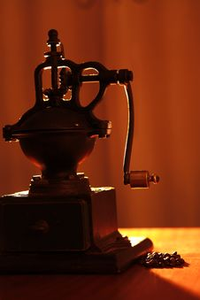 Free Coffee Grinder Royalty Free Stock Photo - 30079815
