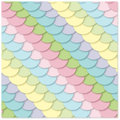 Free Seamless  Pattern: Multi-colored Scales Stock Photo - 30088950