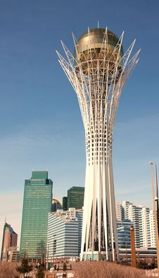 Free Modern City Skyline Astana Kazakhstan Stock Photography - 30083332