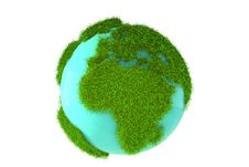 Free Planet Earth Isolated Royalty Free Stock Photography - 30087237