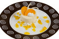 Free Сake On A Plate Royalty Free Stock Photo - 30090725