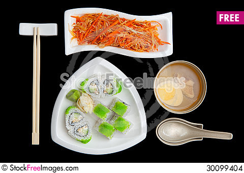 Free Japanese Cuisine Stock Images - 30099404