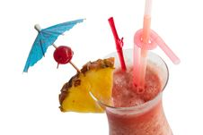 Free Fruit Punch Cocktail Royalty Free Stock Photo - 30090765