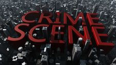 Free Crime Scene City Royalty Free Stock Image - 30091216