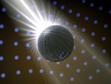 Free Disco Ball Stock Image - 30091221