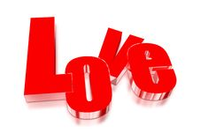 Free Love 3D Royalty Free Stock Photography - 30093897