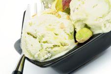 Free Pistachio Ice Cream Stock Photo - 30094610