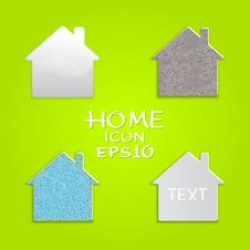 Free Vector Set Of Houses. Stock Image - 30096021