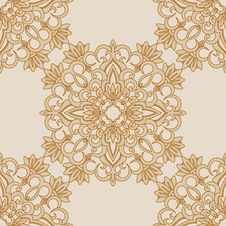 Vector Seamless Background. Royalty Free Stock Photo