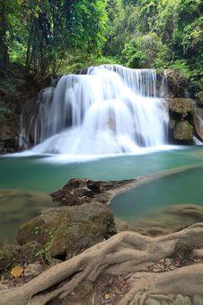 Free Deep Forest Waterfall In Kanchanaburi Stock Photo - 30099040