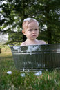 Free Todder In Tub Royalty Free Stock Photography - 3016347