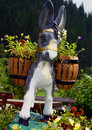 Free Donkey With Flowers Royalty Free Stock Photography - 3019237