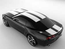 Chevrolet Camaro Concept 2009 Royalty Free Stock Images