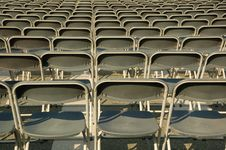Many Chairs Stock Photography