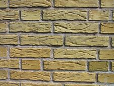 Details Of Yellow Bricks Stock Images