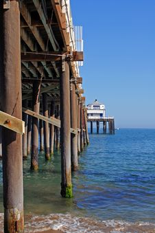 Free Malibu Pier Royalty Free Stock Images - 3011939