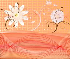 Free Abstract Art Floral Vector Stock Photography - 3013002