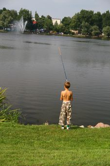 Free Fishing Time... Stock Image - 3013271