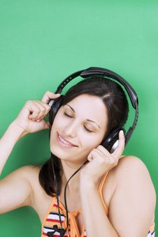Free Girl Listening Music Stock Photos - 3013433