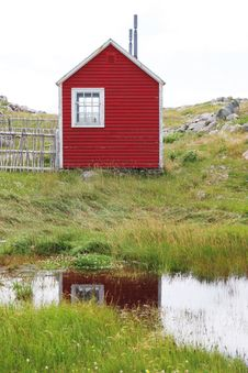 Free Red Building Reflected In The Stock Photos - 3014063