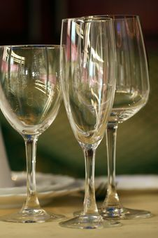 Free Glass On The Table Stock Photography - 3014202