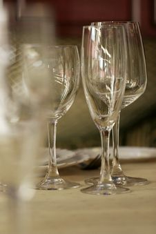 Free Glass On The Table Stock Images - 3014364