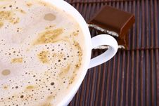 Free Frothy Cappuccino Coffee. Stock Images - 3014644