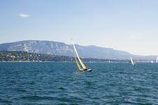 Free Yachting In Geneva Lake Stock Photo - 3015680