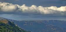 Free The Clouds And Mountains Stock Photography - 3017352