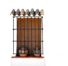Free Ornate Window Royalty Free Stock Photo - 3018615