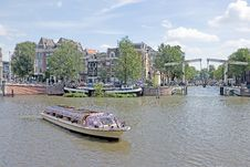Typical View Of Amsterdam 5 Stock Photo