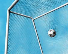 Free Goal Royalty Free Stock Image - 3019766