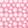 Free Pink Flowers Seamless Pattern Royalty Free Stock Photography - 30102907