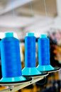 Free Blue Spools Stock Photography - 30103662