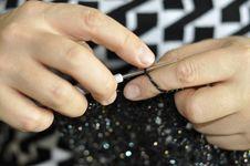 Free Knitting. Royalty Free Stock Image - 30102656