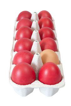 Free Easter Eggs Carton Royalty Free Stock Image - 30102856