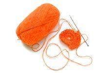 Free Knitting. Royalty Free Stock Image - 30103976