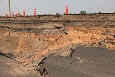 Free Cracked Asphalt Road Stock Photos - 30104153