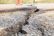 Free Cracked Asphalt Road Stock Photos - 30105673
