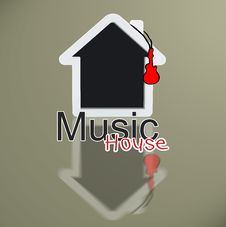 Free Music House Royalty Free Stock Photo - 30106595