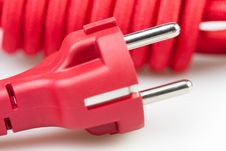 Free Plug Electric Cord Royalty Free Stock Photography - 30108997