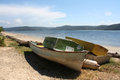 Free Wooden Boats On The Beach Stock Photos - 30112263