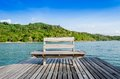 Free Chair On The Shore Near The Sea Royalty Free Stock Image - 30116586