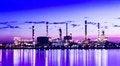 Free Refinery Plant Area At Twilight Stock Photo - 30116900
