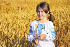 Free Small Rural Girl Stock Photos - 30110203