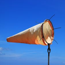 Free Wind Sock And Blue Sky Stock Image - 30114331
