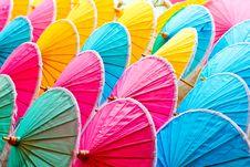 Umbrellas Stock Stock Photo