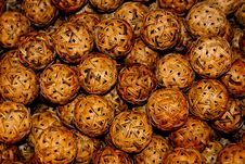 Free Rattan Balls Royalty Free Stock Photos - 30115858